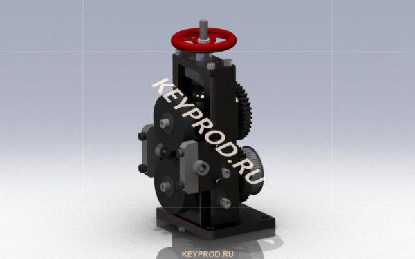 Правильно-отрезной-станок-узел-подачи-keyprod