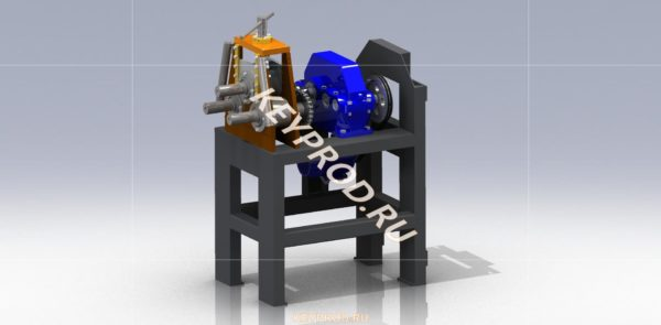 Профелегиб элетрический ПГЭ 01 3D-модель