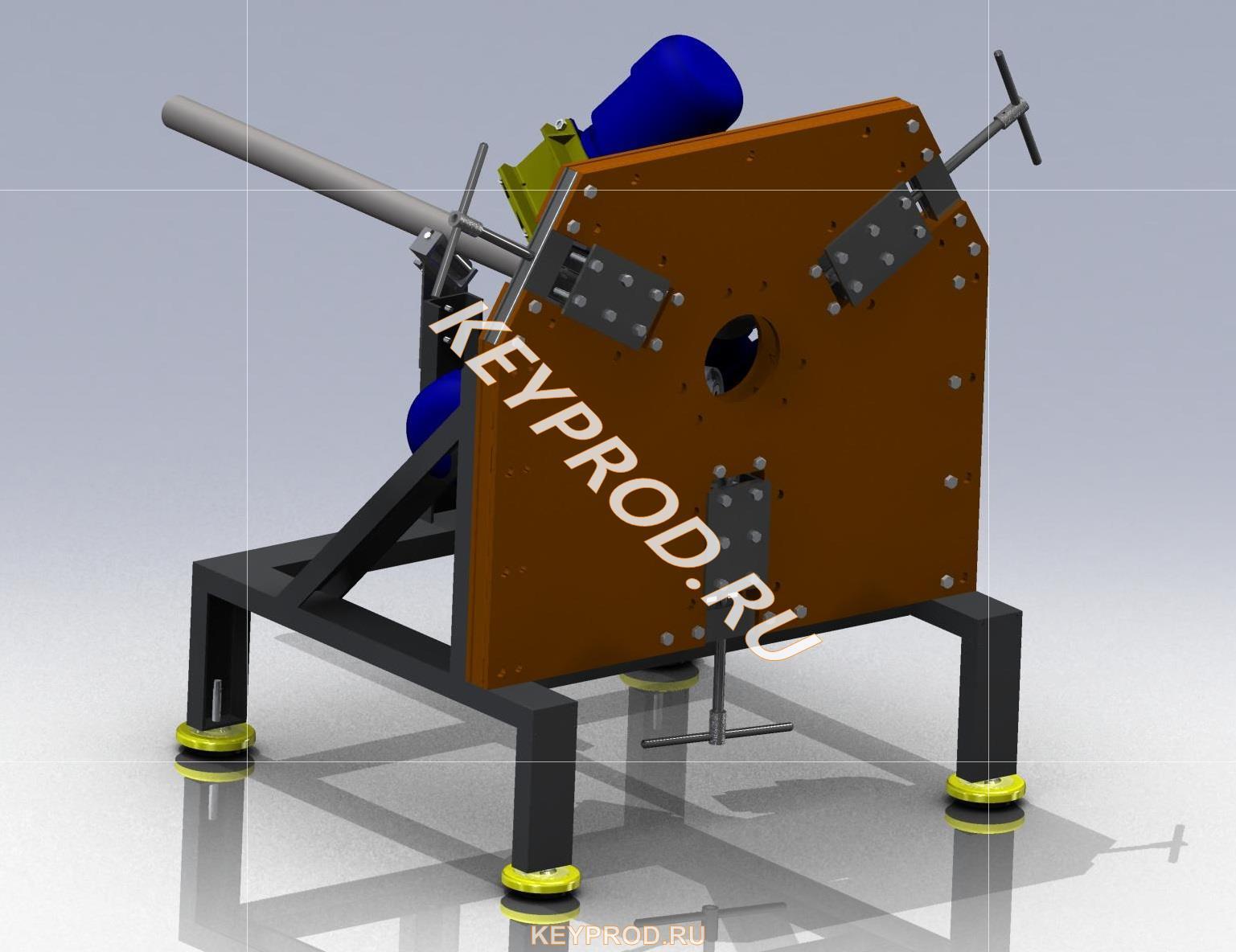 Станок для производства витой трубы чертежи