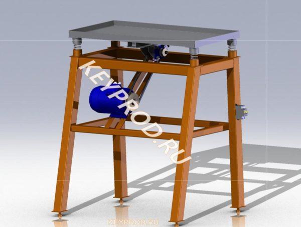 3D-модель Вибростола Keyprod ВС02-01