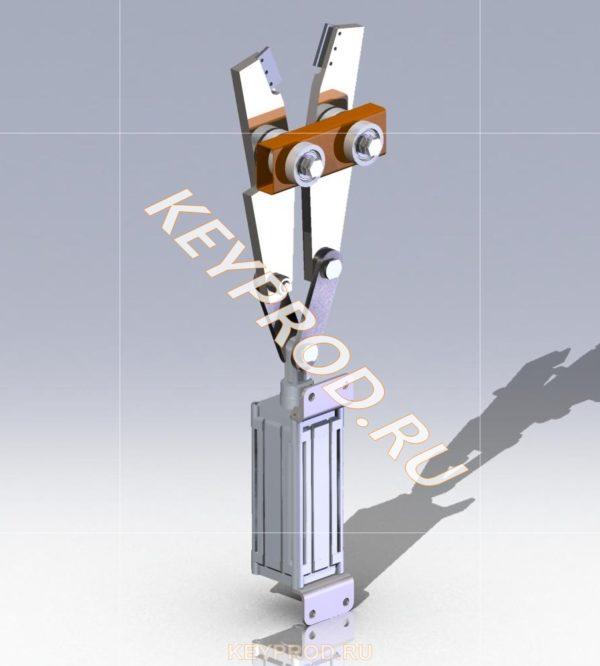 Ножница станка для производства сетки рабица (2)