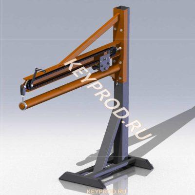 фальцеосадочный станок 3D-модель