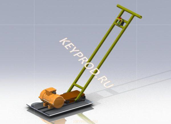 3D-модель Виброплощадка ВП01