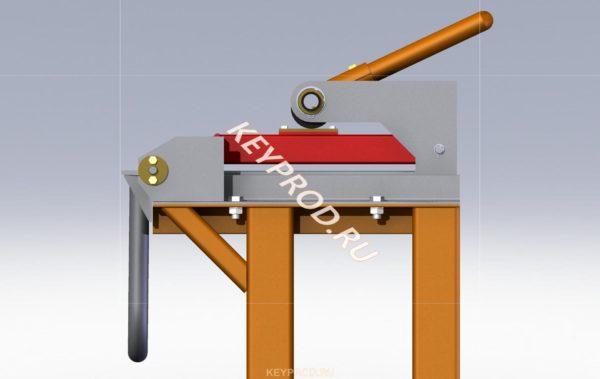 3D-модель листогиба ручного (2500 мм.) (2)