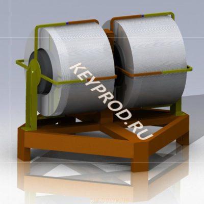 Размотка 3D-модель и чертежи