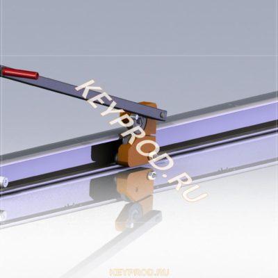 3D-модель роликового ножа для резки листа РН 01