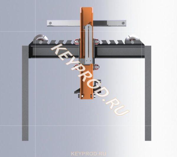 Трубогиб ручной гидравлический ТРГ 01 3D-модель