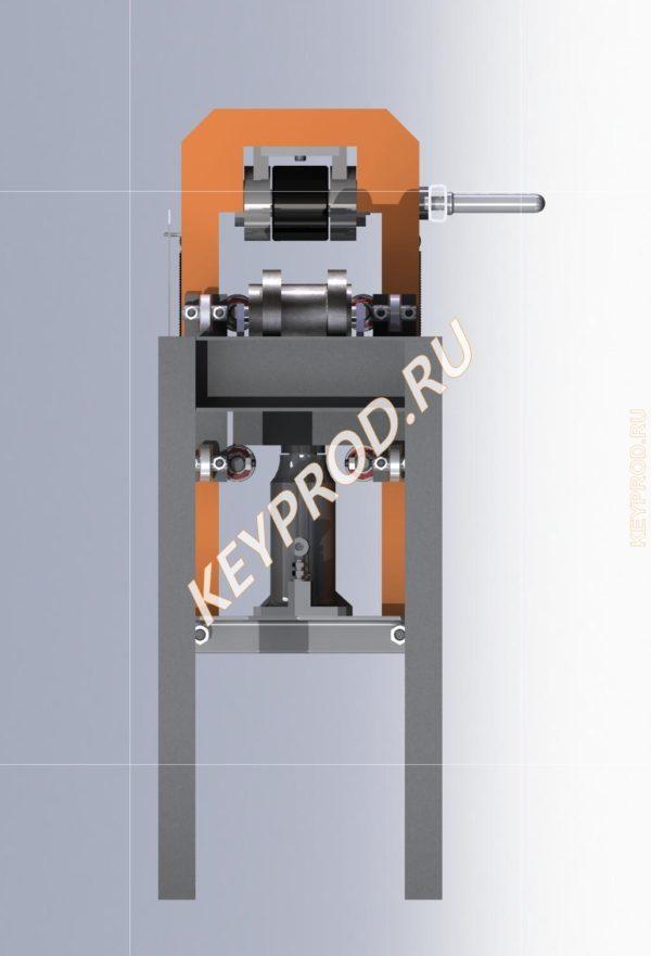 Трубогиб ручной гидравлический ТРГ 01 3D-модель STP