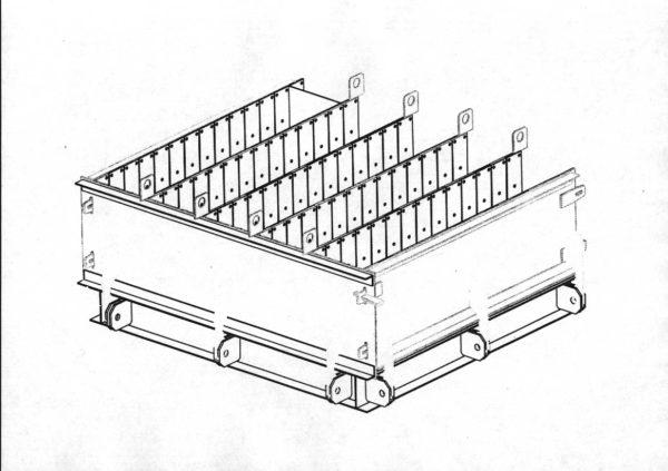 Чертежи и 3D-модель формы кассетной ФК03