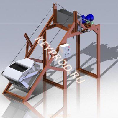 Скиповый подъемник 3D-модель keyprod
