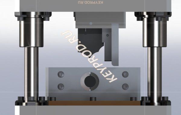 Штамп для резки труб 3D-модель