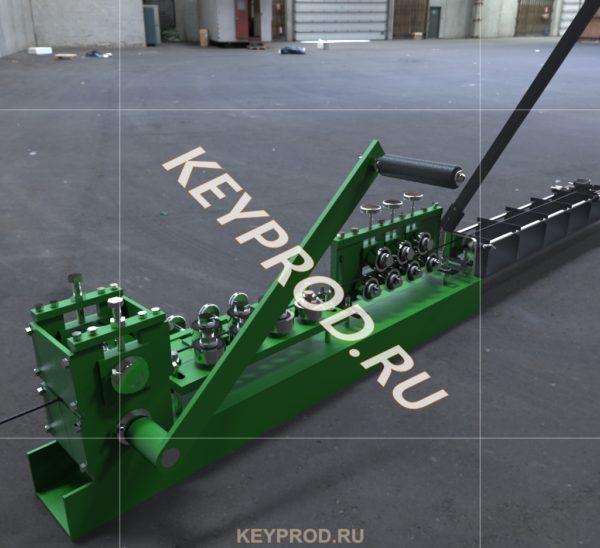 3D-модель правильно-отрезного станка с ручным приводом