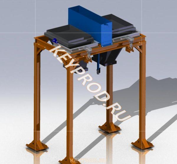 Дозатор на два компонента