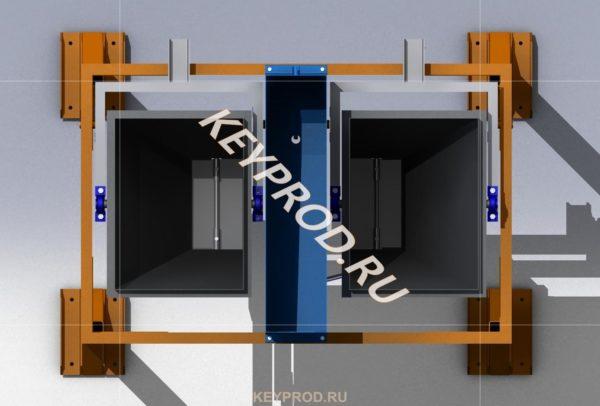 Дозатор на два компонента 3D-модель