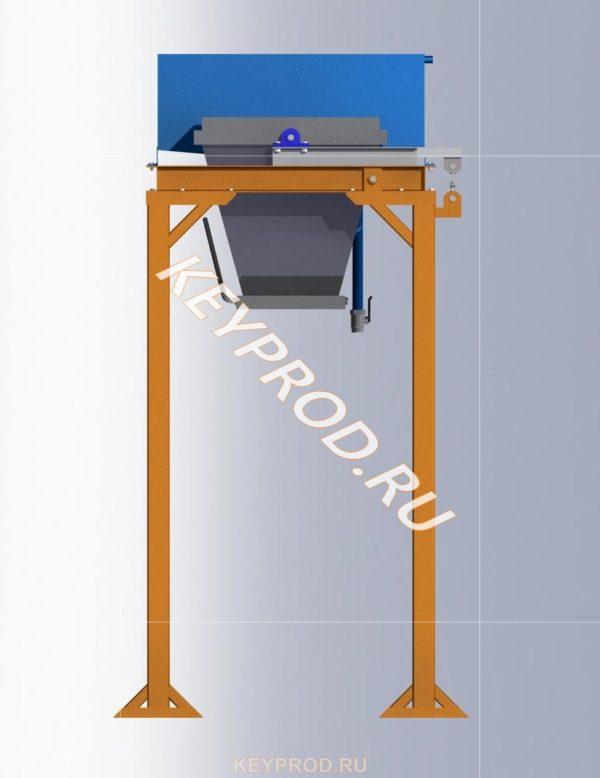Дозатор на два компонента solid iges step Компас