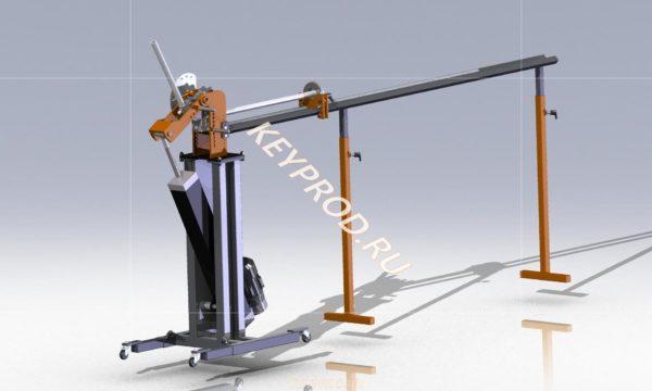 Трубогиб ТНМ с электрогидровлическим приводом 3D-модель