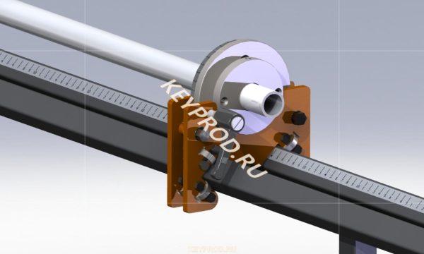 Трубогиб ТНМ с электрогидровлическим приводом