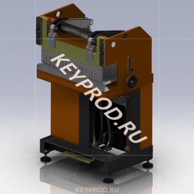 3D-модель Машина листогибочная пневматическая