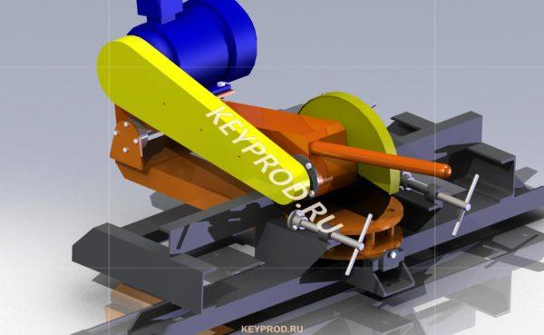 Абразивно-отрезной станок 3D-модель скачат