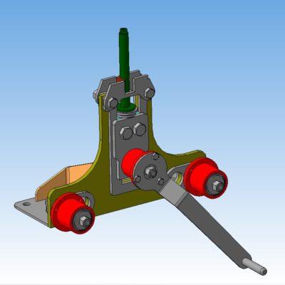 Трубогиб ручной 3D-модель скачать