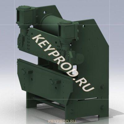 3D-Модель пресса гибочного гидравлического