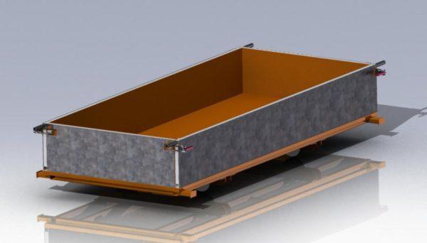 Форма для производства газобетонных блоков