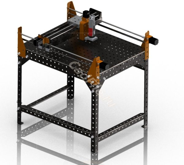 ЧПУ фрезер 3D-модель