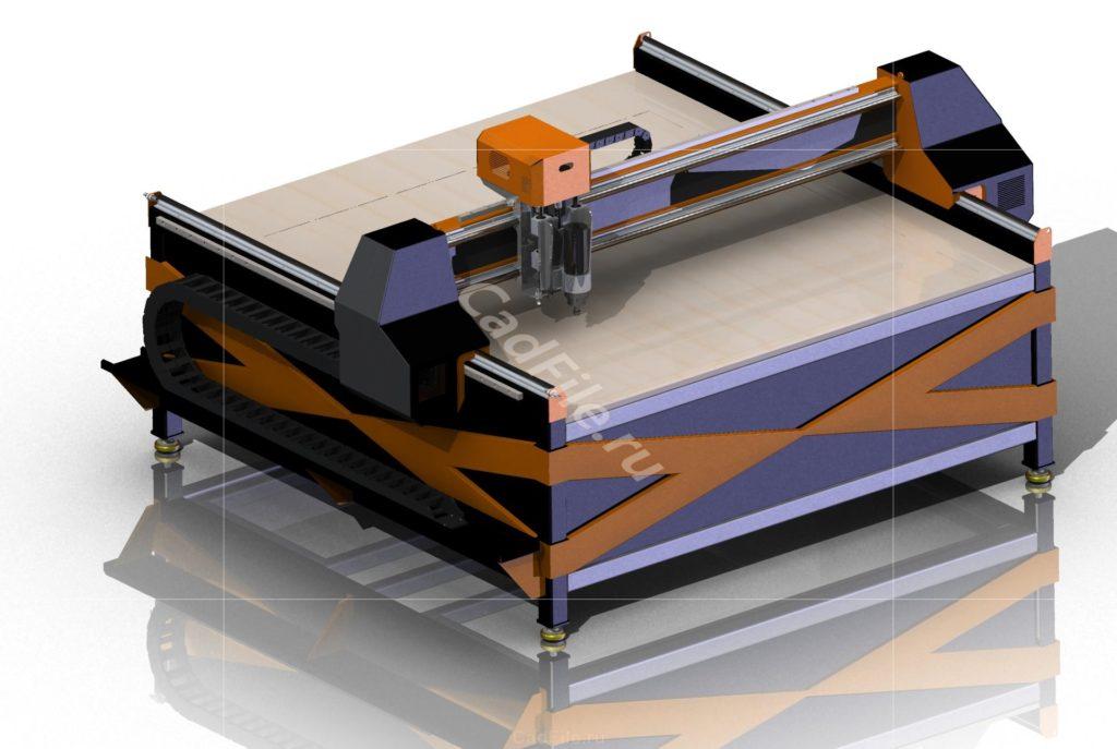 Фрезер ЧПУ 3D-модель