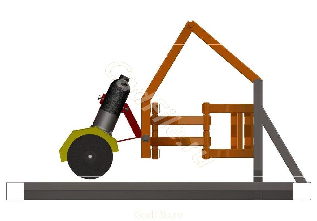 Стойка-слайдер для УШМ 3D-модель