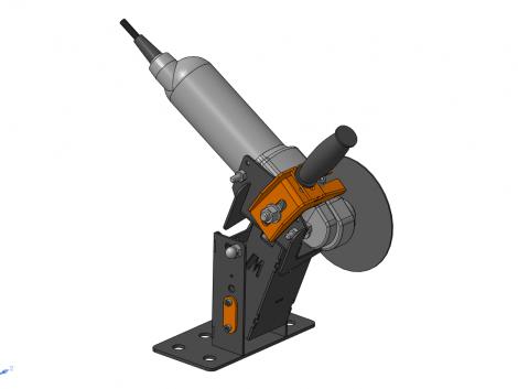 Универсальная стойка для болгарки 3D-модель