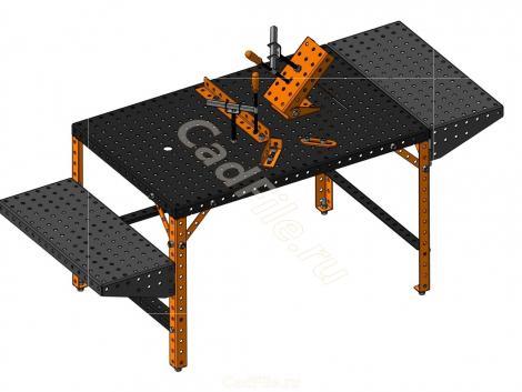 стол сварочно-монтажный 1200х800