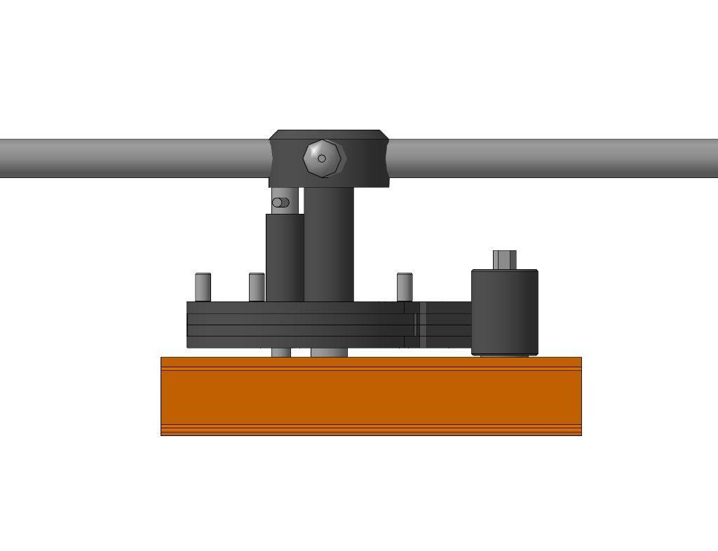 3D-модель приспособления Улитка для художественной ковки металла