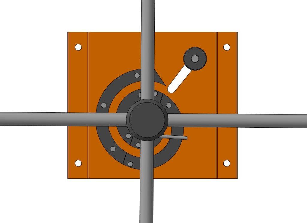 3D-модель приспособления для изготовления улитки