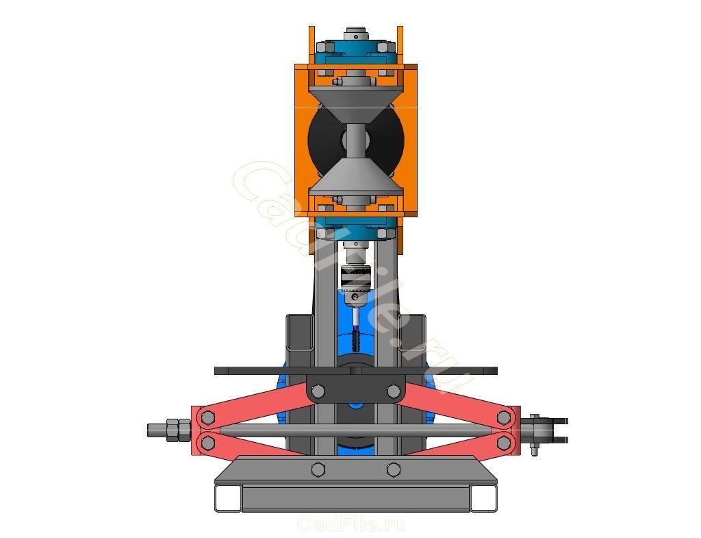 станок резьбонарезной 3D-модель и чертежи2-1