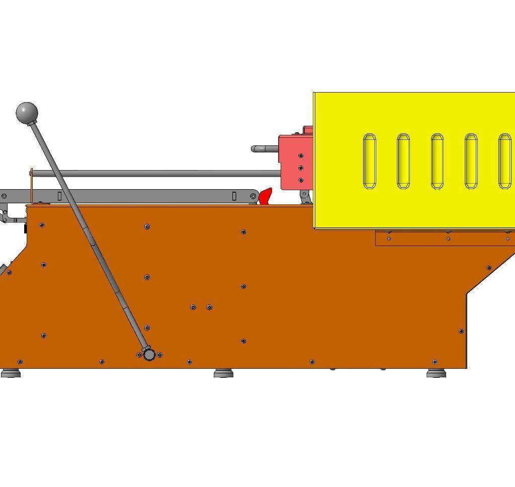 Вакуумный формовочный станок 3D-модель скачать