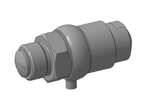 МЧ00.17.00.00 СБ - Клапан пусковой 3D-модель компас