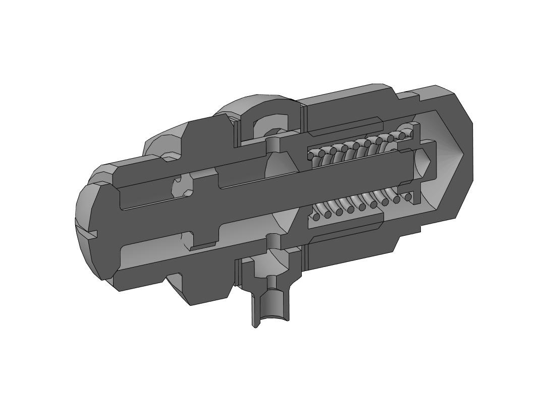 МЧ00.17.00.00 СБ - Клапан пусковой 3D-модель
