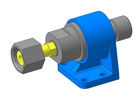 МЧ00.19.00.00 Клапан сетевой обратный 3D-модель и чертежи