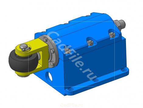 МЧ00.34.00.00.СБ - Амортизатор роликовый 3D-модели и чертеж