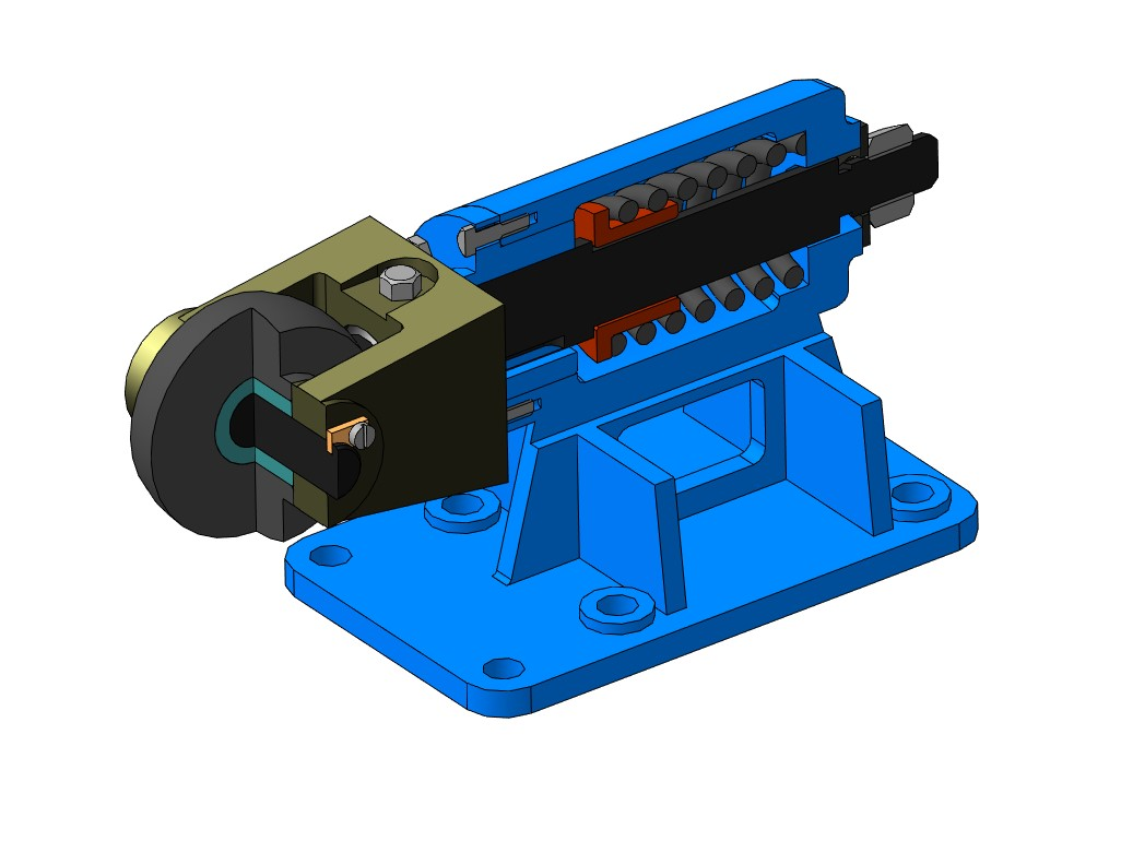 МЧ00.46.00.00 СБ Ролик упорный 3D-модели и чертежи