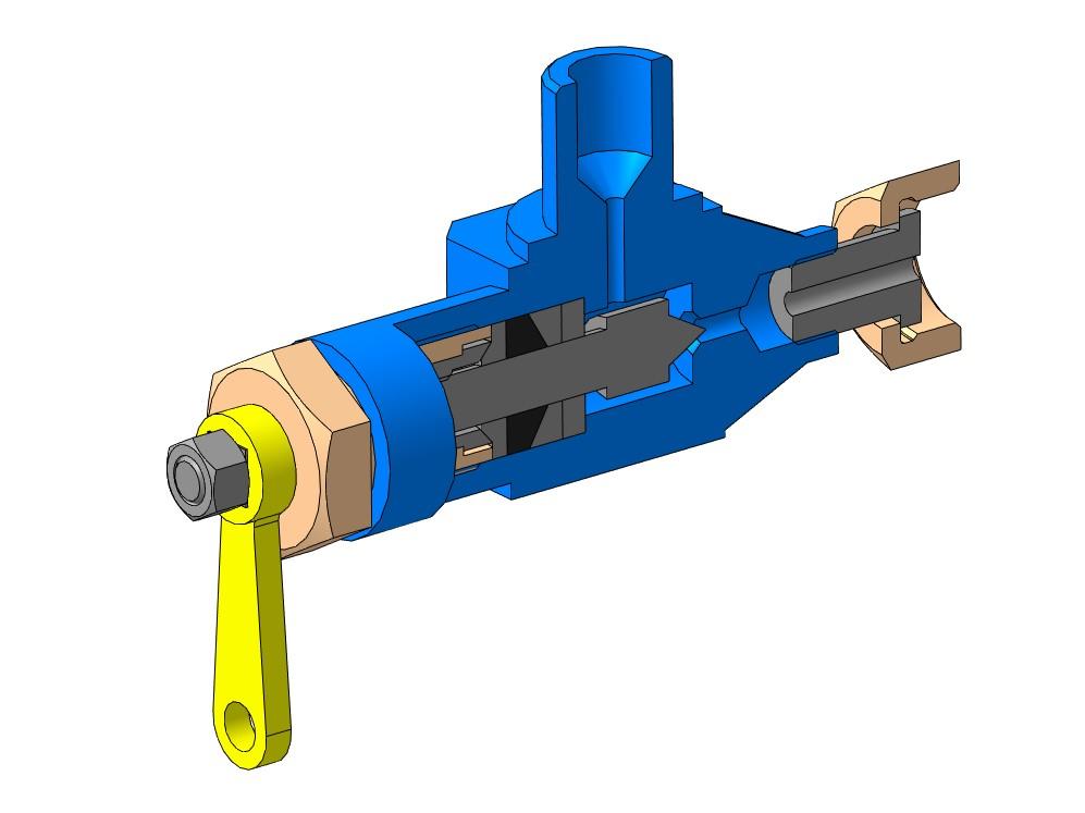 МЧ00.60.00.00 - Вентиль 3D-модель