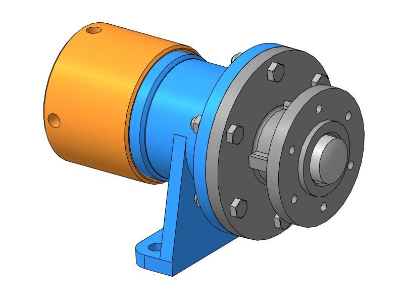 МЧ00.78.00.00 - Амортизатор чертежи 3D-модель