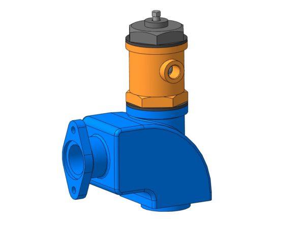 МЧ00.63.00.00 СБ Клапан предохранительный 3D-модель