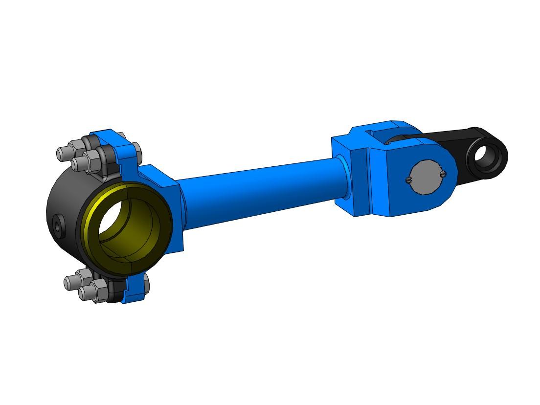 МЧ00.37.00.00 СБ Тяга 3D-модель