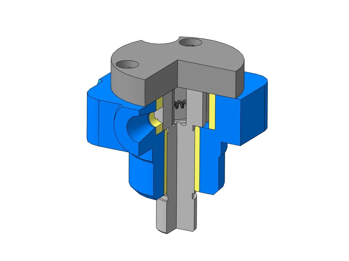 01.000 Насос Аксарин 3D-модель