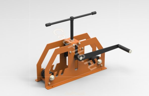 Профилегиб МС 3D-модель