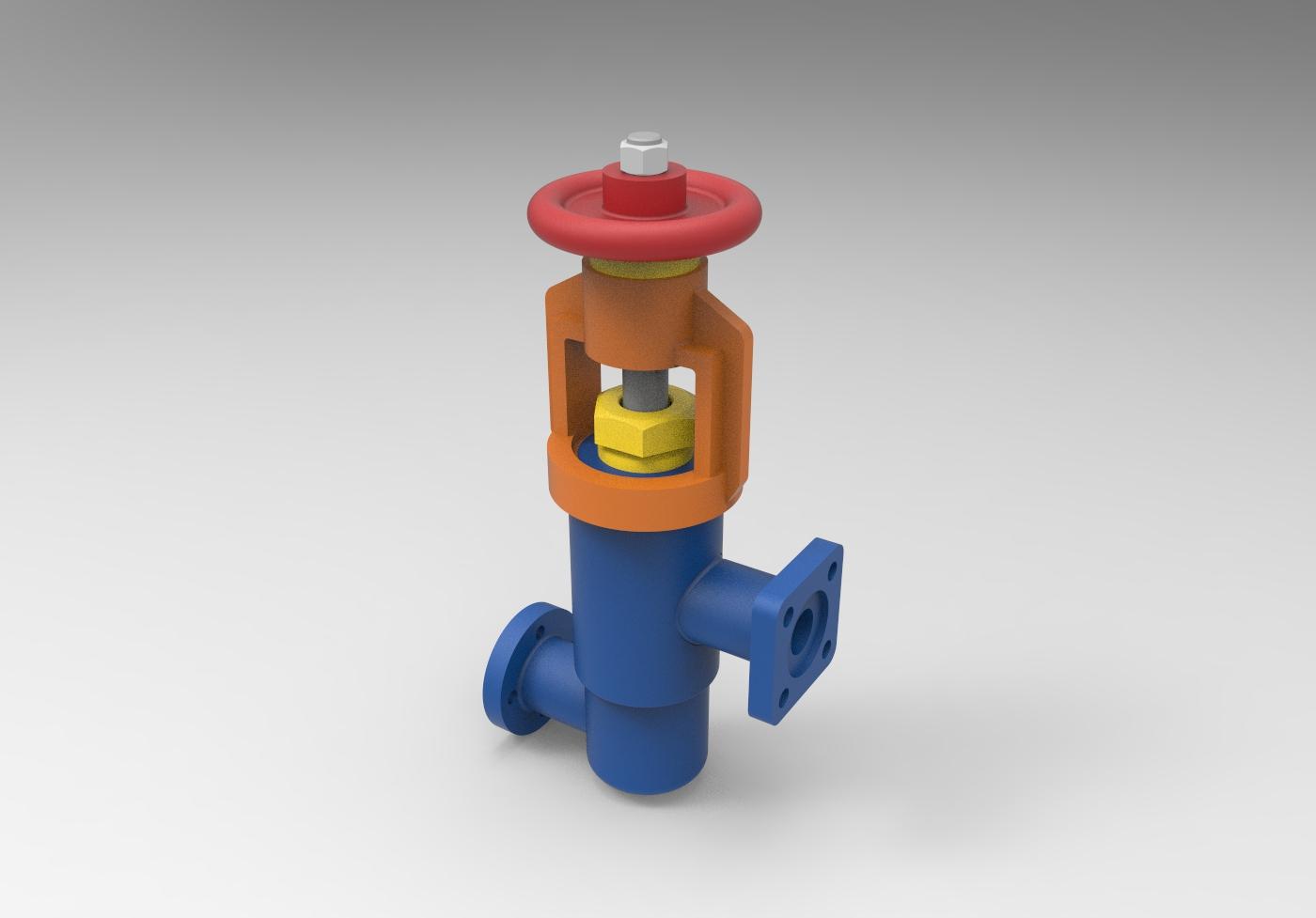 МЧ00.62.00.00 СБ Клапан 3D-модель и чертежи