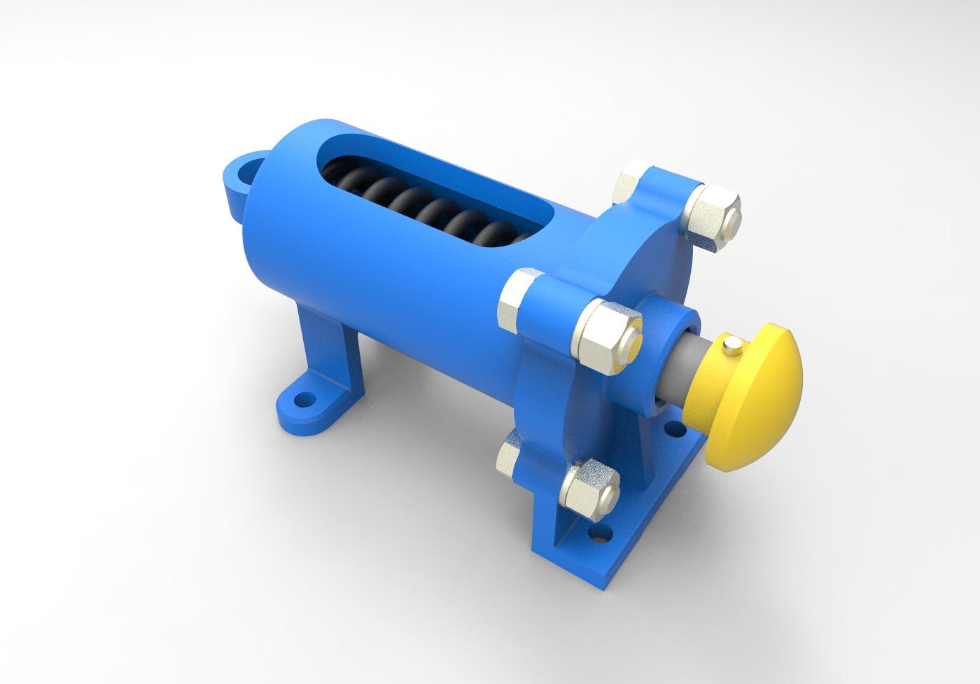 МЧ00.67.00.00.СБ Буфер 3D-модель и чертежи