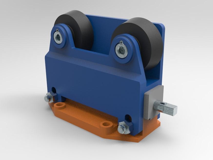МЧ00.58.00.00 СБ Ролики направляющие 3D-модель и чертежи