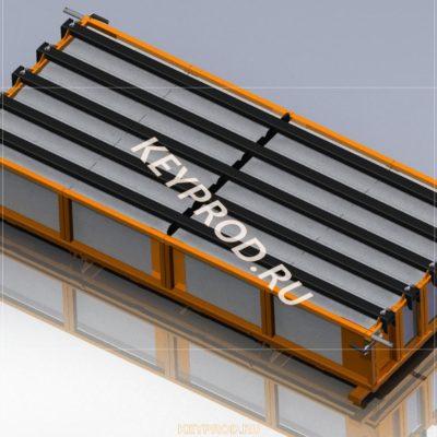 Шаблон резки массива газобетона 3D-модель